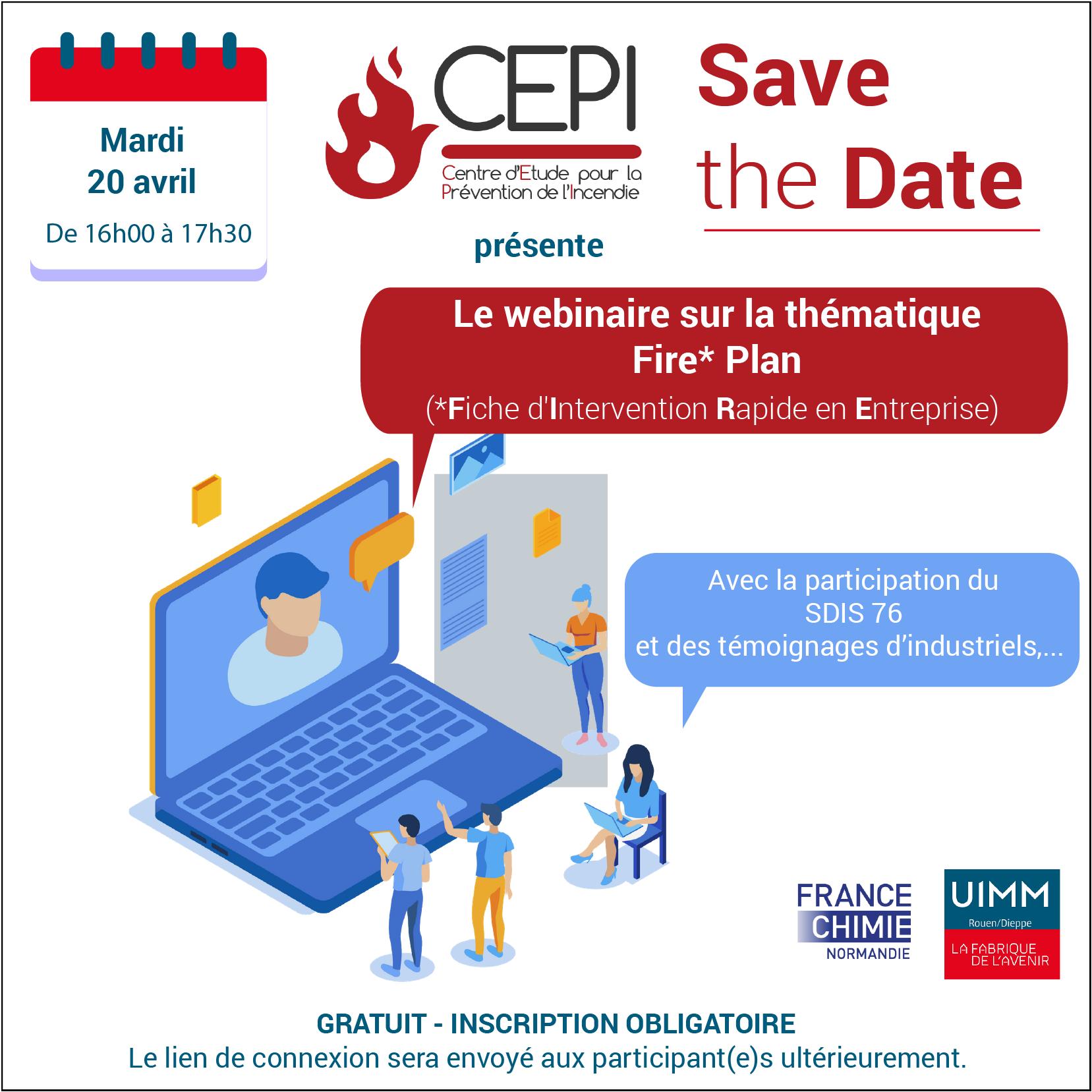 Webinaire du CEPI «  La fiche d'Intervention Rapide en Entreprise »